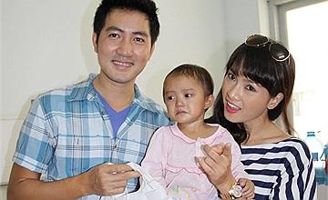 Anh Thư, Nguyễn Phi Hùng mang tình thương đến cho bé Hầu Thị Dung