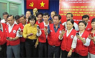 Hoạt đông tháng 5 của Hội chữ thập đỏ TP.Hồ Chí Minh