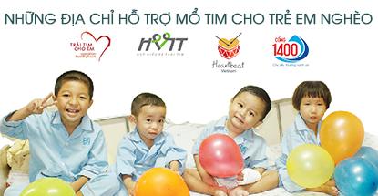 Những địa chỉ hỗ trợ kinh phí mổ tim cho trẻ em có hoàn cảnh khó khăn