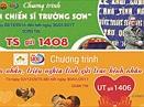 Cong 1400 phat dong nhan tin tri an chien si Truong Son va ung ho benh nhan ung thu