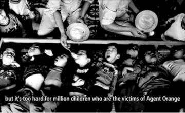 Phóng sự về nạn nhân chất độc da cam Việt Nam