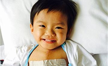 Hơn 1,7 tỉ đồng hỗ trợ các bé bệnh tim qua Cổng 1400