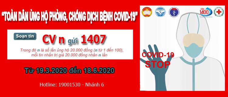 """Phát động chương trình """"Toàn dân ủng hộ phòng, chống dịch bệnh Covid-19"""""""