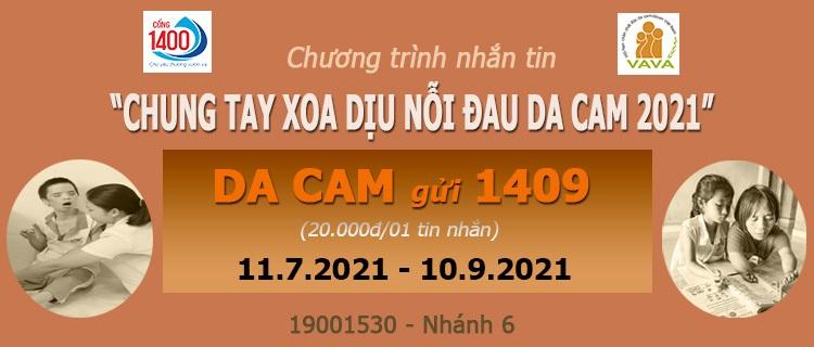 """Chung tay xoa dịu nỗi đau da cam"" 2021"
