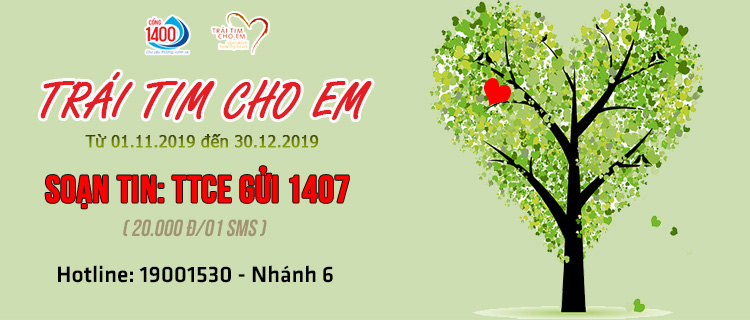 """Diễn viên Hồng Diễm kêu gọi nhắn tin ủng hộ chương trình """"Trái tim cho em"""""""