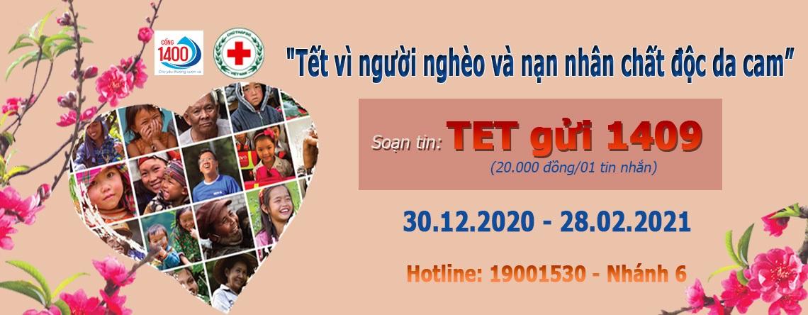 """Phát động chương trình """"Tết vì người nghèo và nạn nhân chất độc da cam"""" 2021"""