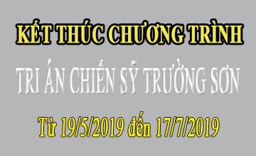"""Dừng tiếp nhận tin nhắn ủng hộ chương trình """"Tri ân chiến sĩ Trường Sơn"""" 2019"""