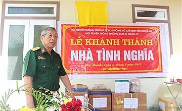 """Nhiều nhà tình nghĩa được trao tặng từ chương trình """"Tri ân chiến sỹ Trường Sơn 2019"""""""
