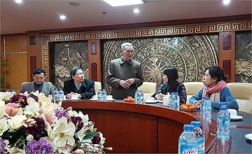 Hội Hỗ trợ gia đình liệt sĩ Việt Nam trao tặng bằng khen cho Cổng 1400