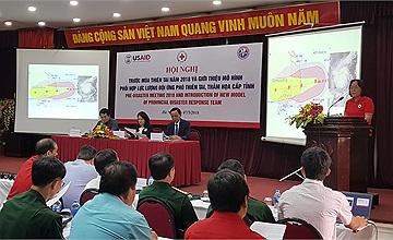 Hội Chữ thập đỏ Việt Nam tổ chức hội nghị trước mùa thiên tai năm 2018