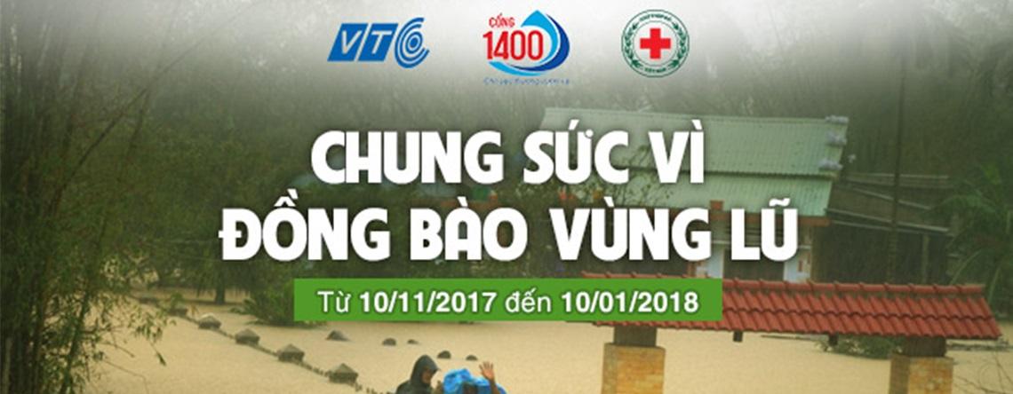 VTC Game - Chung sức vì đồng bào vùng lũ ảnh hưởng bởi cơn bão số 12